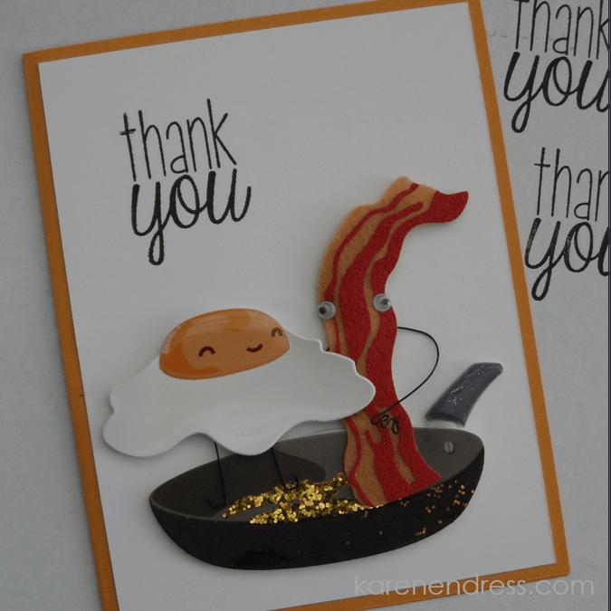 Bacon & Egg Thank You