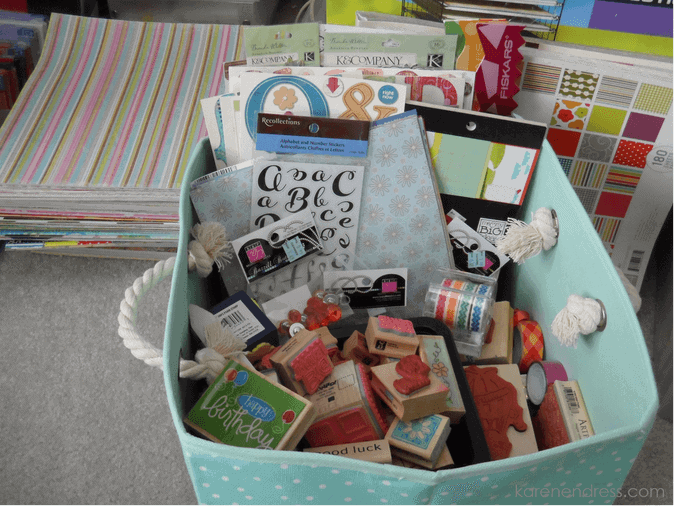Cleaning for a Cause–Donations from my Craft Room