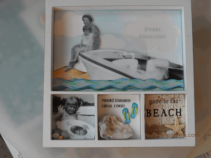 Mixed Media Sweet Memories